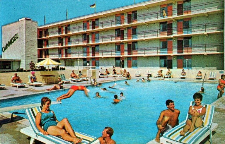 Carousel hotel from back in the 1960's
