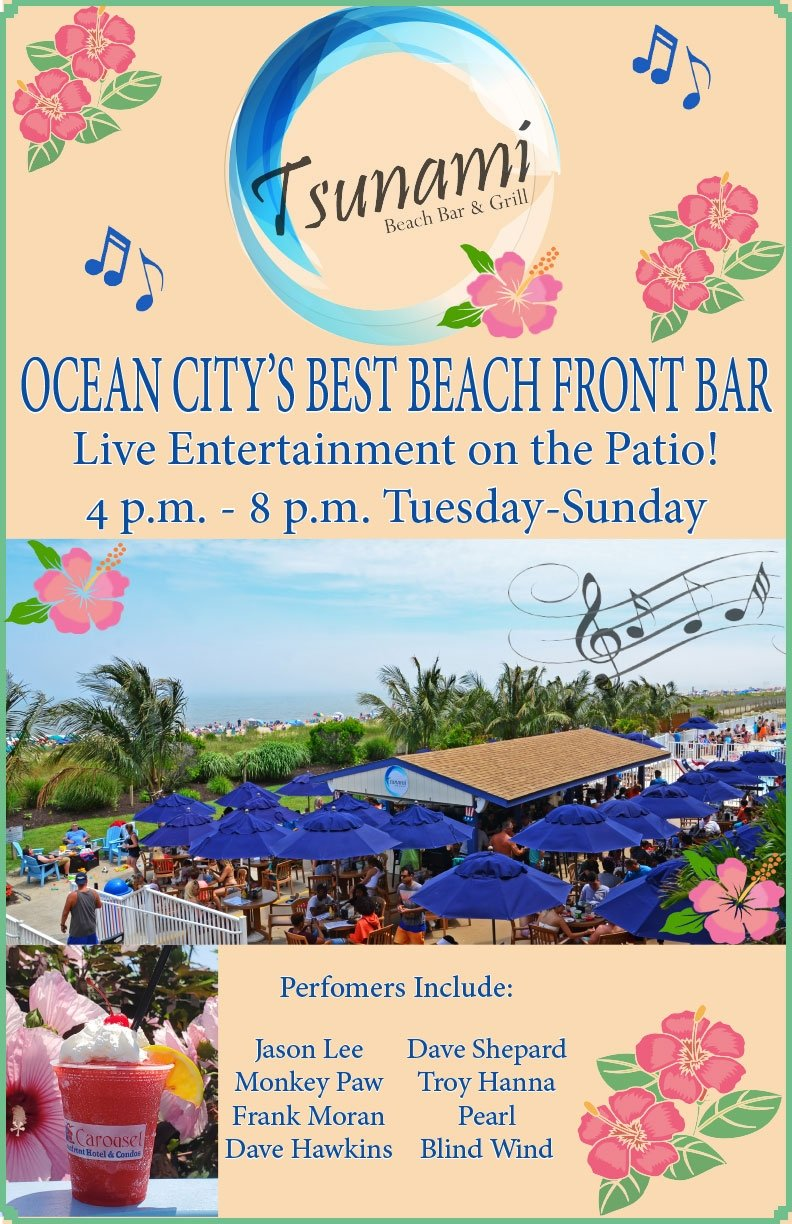 Ocean City's Best Beach Front Bar